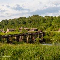 Тихая деревенька в Карелии :: Горелов Дмитрий