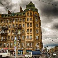 Питер дом на Лиговском проспекте :: Юрий Плеханов