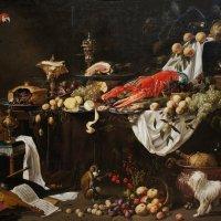 Адриан Ван Утрехт  (1590- 1651/52). Натюрморт, 1644 :: Елена Павлова (Смолова)