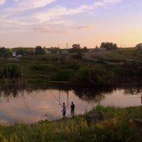 Вечерняя рыбалка . :: Мила Бовкун