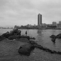 Вид на одну из бухточек в заливе Виктория, Гонконг :: Sofia Rakitskaia