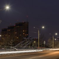 Вечерняя Дубна. :: Виктор Евстратов