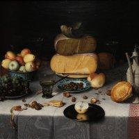 """Флорис ван Дейк """"Натюрморт с сыром"""", 1615 :: Елена Павлова (Смолова)"""