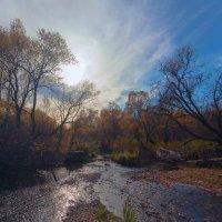 Солнце над рекой :: Анатолий Иргл