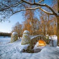 Мостик в парке :: Игорь Соболев