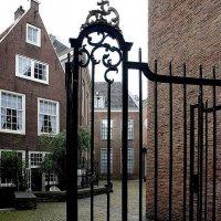 Амстердамский Бегинаж :: Елена Павлова (Смолова)