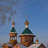 Храм :: Леонид Чащин