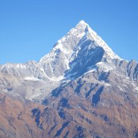 Непал. Вид на горы с борта дельтаплана :: Gal` ka