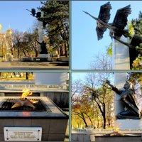 У Вечного огня в Кисловодске :: Нина Бутко