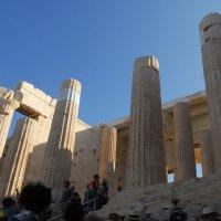Пропилеи Афинского Акрополя. :: Надя Кушнир