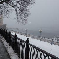 Туманная Набережная зимой! :: Горелов Дмитрий