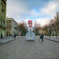 ...На Дерибасовской хорошая погода!.. :: Вахтанг Хантадзе