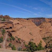Спускаемся в каньон De Chelly (Аризона, США) :: Юрий Поляков