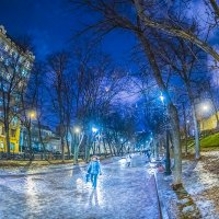 Москва. Гоголевский бульвар. :: Игорь Герман