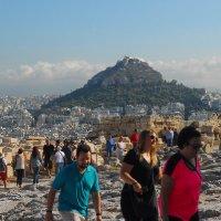 Вид на гору Ликавиттос :: Надя Кушнир