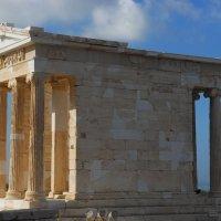 Храм Ники Аптерос в Афинском Акрополе :: Надя Кушнир