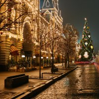 Новогодняя елка на Красной площади в Москве :: Николай Н