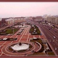 Минск с высоты 9-го этажа... :: Vladimir Semenchukov