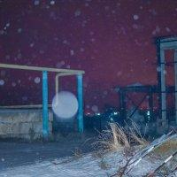 Ночь на заводе :: Пётр Сухов