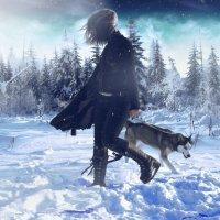 Зимний :: Nikki Lashkevich