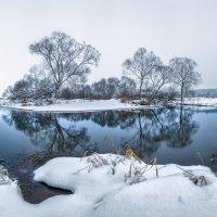 Река Серая у Немецких гор. :: Николай Андреев