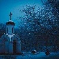 Зимняя ночь Вологды :: Mari_L