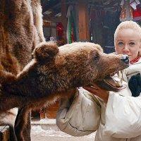 Портрет с медвежьей шкурой :: Владимир Болдырев