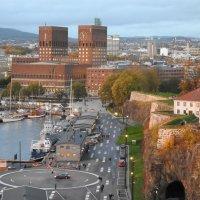 Вид с палубы на вечерний Осло :: Natalia Harries