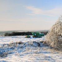 Обычный зимний пейзаж :: Олег Архипов