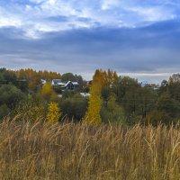 Деревенька на холме :: Сергей Цветков