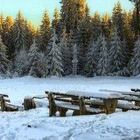 Синий снег :: Юрий. Шмаков