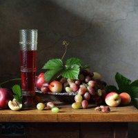 Красное вино :: Елена Татульян