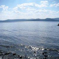 Солнечный день на озере :: Татьяна Котельникова
