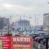 Суровые Калининградские парковки. :: Sergey Polovnikov