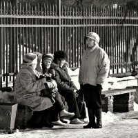 На солнышке :: Кулага Андрей Андреевич