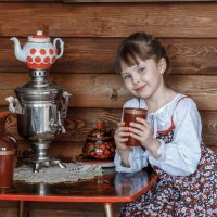 С кружкой чая :: Ольга Прусова