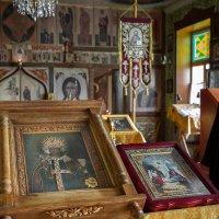 Икона святой великомученицы Варвары :: Ксения Порфирьева