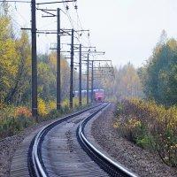 От станции * Осень * к станции  *Зима * :: Николай Танаев