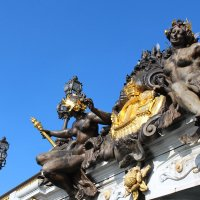 Париж. Декор моста Александра III :: vadimka