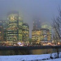 На город опустился туман. :: LIDIA PV