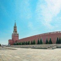 Вид на Спасскую башню. :: Анатолий Щербак