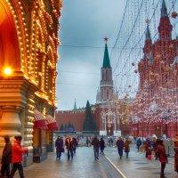 Москва предновогодняя. :: Лара ***