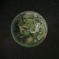 Где-то во Вселенной кружится моя деревенька... :: Александр Гурьянов