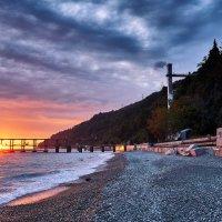 Закат на Черном море :: Aleks 9999