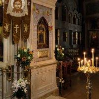 Монастырь. Всенощное бдение. :: Геннадий Александрович