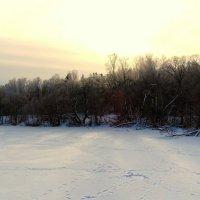 Зимний закат :: Милешкин Владимир Алексеевич