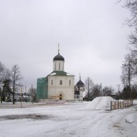 Успенский собор и Храм Богоявления Господня :: Анна Воробьева
