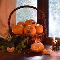 В новогодних мандаринах детства вкус неповторимый! :: Лара Гамильтон