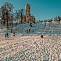 Забавы зимой :: Александр Лебедев
