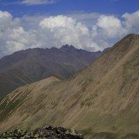 Гора Белая Папаха Высота 3220 м :: Леонид Сергиенко